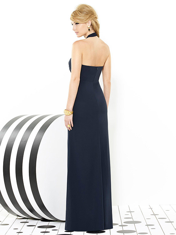 Dessy style 6716, bridesmaid dress, trumpet skirt