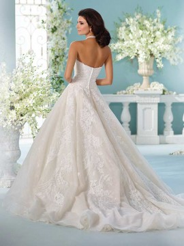 David Tutera Mon Cheri 216255 back