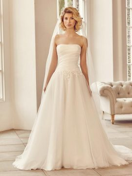 Benjamin Roberts 2735 Ivory WAS £1195, NOW £495 Size 8-12