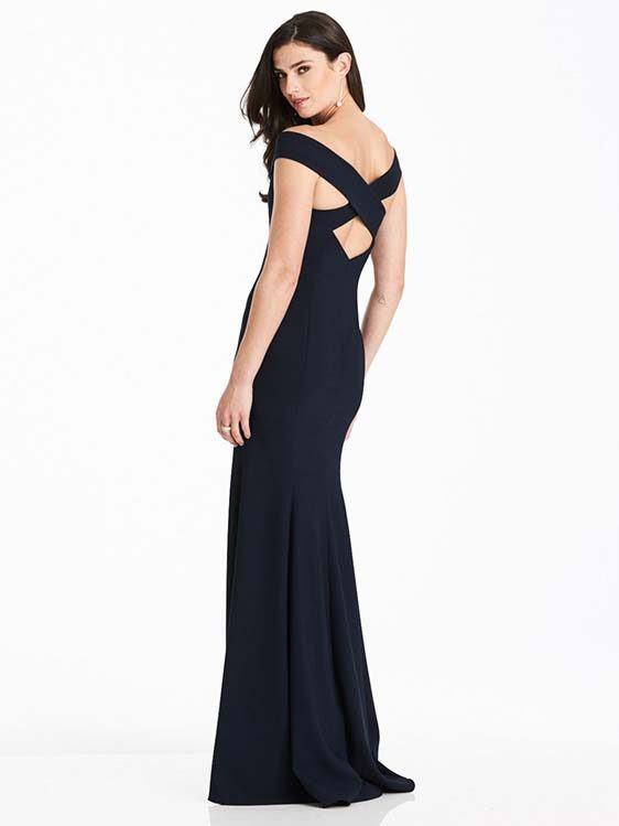 Dessy Bridesmaid 3012 rear